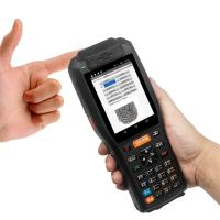 4GB Industrial Barcode Scanner 7.4V 3400mAH Lithium Battery With Thermal Printer Manufactures