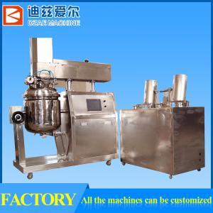 150L cosmetic cream mixer, cosmetic emulsifying mixer, cosmetic emulsifier Manufactures