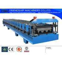 15m/min Laser Metal Deck Roll Forming Enquipment With PLC System Manufactures
