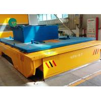 Battery Operated Rail Guided Powered Transfer Trolley For Paper Making Industry Manufactures