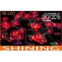 Holiday 38pcs 10m RGB LED String Lights , Indoor Lighting Fixture Manufactures