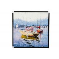 China Contemporary Salon Decorative Maritime oil paintings Customizable size on sale