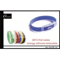 Power balance silicone bracelet health magnetic clasp band Manufactures