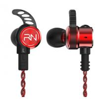 RevoNext RX6 Dual Drivers HiFi In Ear Earphones , ANC Wired Earphones With Mic 1DD 1BA Manufactures