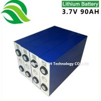 High energy rechargeable lithium ion battery for solar/wind/UPS/home generator/EV/RV 3.2V 90Ah LiFePO4 Batteries Cell Manufactures