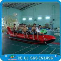 Inflatable Single Tube Banana Boat, Inflatable Water Sports Boat Manufactures