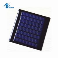 Quality ZW-5754 Lightweight Mini Solar Panels 4V 8 Battery 0.25W Solar Panel Polycrystalline for sale