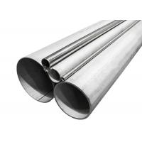 Round Type 304 Stainless Steel Pipe Good High Temperature Resistance Manufactures