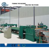 Adjustable Cut To Length Line 1800mm , Sheet Metal Slitting Machine Manufactures