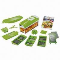 Nicer dicer for cutting food, unique patented design Manufactures