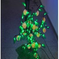 Outdoor 16w green+white LED christmas,Valentine's Day,Halloween Peach Tree Lights Manufactures