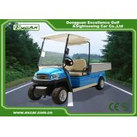 5kw Hotel Electric Golf Cart 350A USA Curties , Mini Electric Truck Manufactures