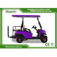 4 Wheel Fuel Type Battery Operated Golf Cart 350Ah 3700w CE Certificated Manufactures