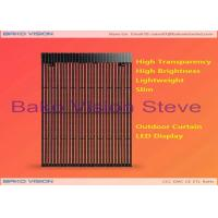 Commercial Advertising Outdoor Fixed LED Display DIP P15.625 P25 Mesh Screen Sign Billboard Manufactures