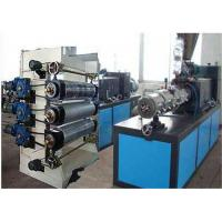 PVC Foam Sheet Board Plastic Sheet Extrusion Line , PVC Decoration Sheet Making Machine Manufactures