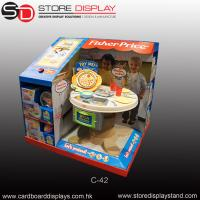 customized PDQ toys tabletop display box Manufactures