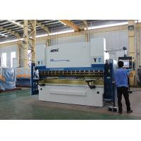 Graphic Color CNC Press Brake Machine 300 Ton With Adjustable Clampings Manufactures
