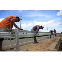 Full Automatic Control Highway Fence 2 Waves Guardrail Cold Roll Forming for sale