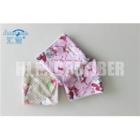 China High water absorption 330gsm 40*40cm printed microfiber cleaning towel on sale