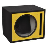 Colorful Painting Professional Subwoofer Box , Subwoofer Enclosure Box With Long Lead Wire Manufactures