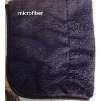 Microfiber 300gsm 150cm Width Black Durable Piping Good-looking Sports Cleaning Towel Manufactures