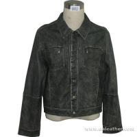 Mens Pig Nappa Leather Jacket (002) Manufactures