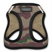 Step - In Air Mesh Custom Dog Harness Puppy Breathable Vest With Reflective Bands Manufactures