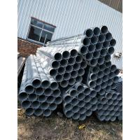 ERW Zinc Coated Seamless Steel Pipe Galvanized Hollow Section Manufactures