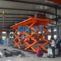 12T 6M Double Scissor Lift Table Manufactures
