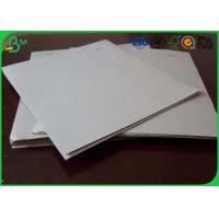 Uncoated Grey Board Paper Custom Size 300gsm - 3150gsm For Shoes Box Manufactures