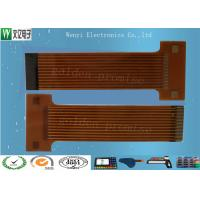 Sink Gold 2mm Pitch FPC Flexible Printed Circuit , Silkscreen Flex Circuit Board Connectors Manufactures