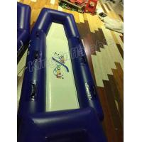 Life Guarding Use Blow Up Blue / White PVC Water Guard Board Toy For Outdoor Games Manufactures