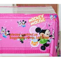 disposable plastic tablecover 108*180cm tablecloth/map for kids happy birthday party decoration supplies, cartoon mickey Manufactures