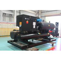Air Conditioner Horizontal Water Cooled Screw Chiller R134a 1166.9KW Manufactures