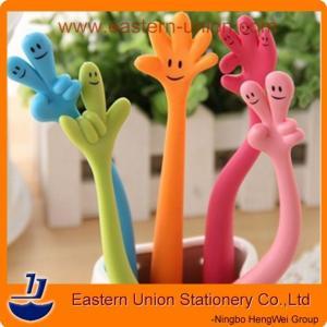 Silicone flexional finger pens, gesture pens,personalized pens Manufactures