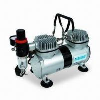 Airbrush Compressor with 1,450/1,700rpm Speed and 0 to 4bar Working Pressure Manufactures