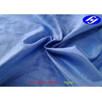 China thin light jacquard polyester Anti Static Fabric for bussiness suit linning on sale
