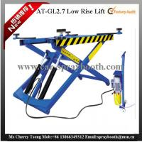 AT-GL2.7 Thin Structure Hydraulic Car Lift , Automotive Scissor Lift For Tyre Repair