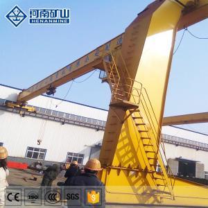 China IP55 Rugged Semi Gantry Crane , Half Door Lifting Cantilever Gantry Crane on sale