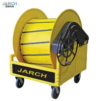 Auto Retractable Hose Reel Hand Wheel Crank Pre Conditioned Air PCA With Cart Manufactures