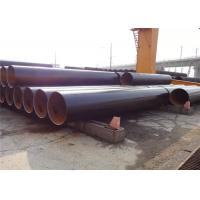 EN10219  S355J0 ERW Steel Pipe , 1 - 20 Inch Carbon Steel welded Tube, fire protection systerm pipe, extinguisher pipes Manufactures