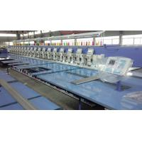 Multi Head Embroidery Machine , Industrial Embroidery Sewing Machine With USB Port Manufactures