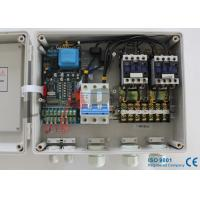 Duplex Single Phase Pump Control Panel DOL Start , 0.37-2.2KW Output Power Manufactures