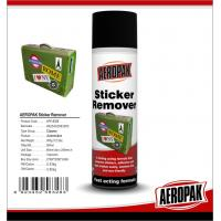 China Safe Industrial Cleaning Products , Car Window / Paste Sticker Remover Spray on sale