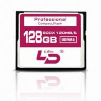 China 800X CF/Compact Flash Card with 120m/s (32/64/128G) on sale
