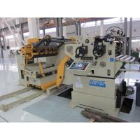 Coil Handling System Decoiler Straightener Feeder With Upper 6 Work Roll Manufactures