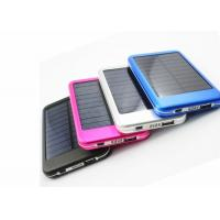 China 5000mAh Portable Solar Power Bank Rechargeable Batteries Charger Waterproof on sale