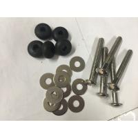 Slotted screw stainless steel S316 large flat head slotted screw Manufactures