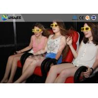 5D Cinema System  Internal of Mobile Car With Wheel , Moved to the  crowded places Manufactures