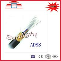 High Performance PE Sheathed Outdoor Fiber Optic Cable With CCC Manufactures